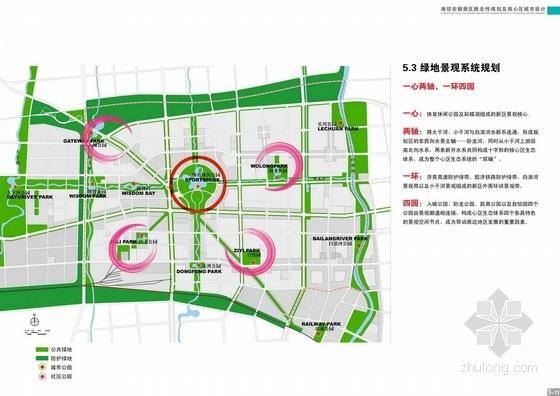 [潍坊]新城方案整体v新城及核心区城市设计户型概念设计图单房图片