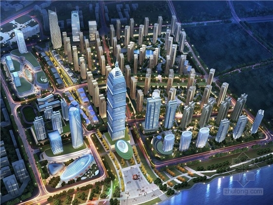 [宜昌]现代大型商务区规划概念方案文本