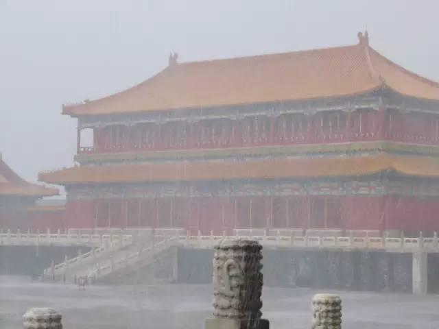 暴雨天,给你讲讲故宫的排水系统!_2