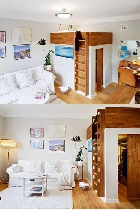 学建筑的你怎么能甘心自己的卧室和别人一样!!!_2