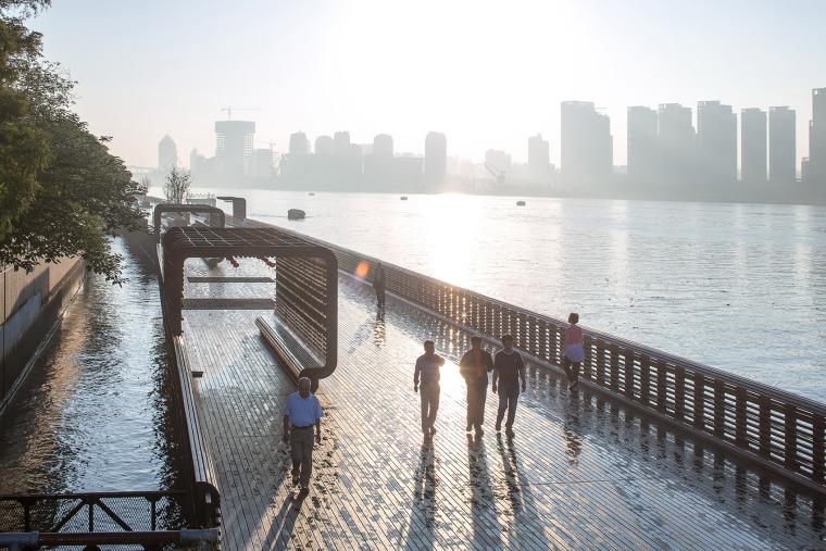 杨浦滨江公共空间景观