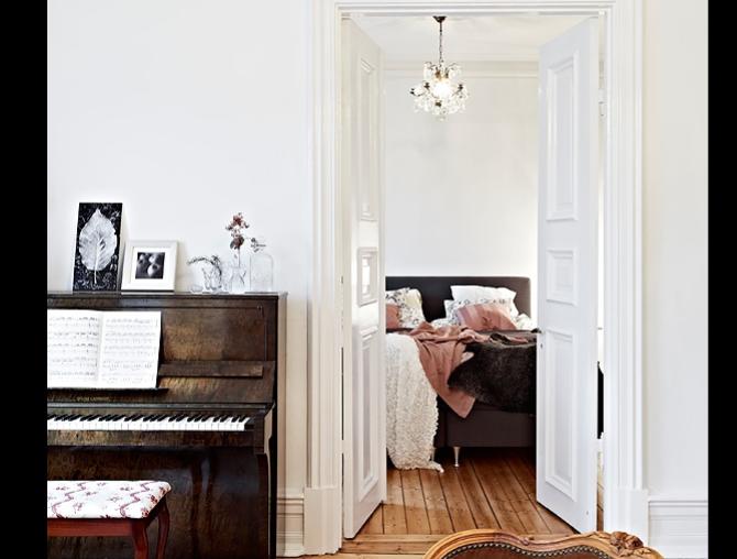 92平北欧公寓两室一厅室内设计实景图(18张)-实景图