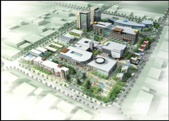广电信息田林创意产业园区概念性规划及建筑改造建议