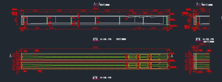 装配式预应力混凝土连续T梁构造大样图