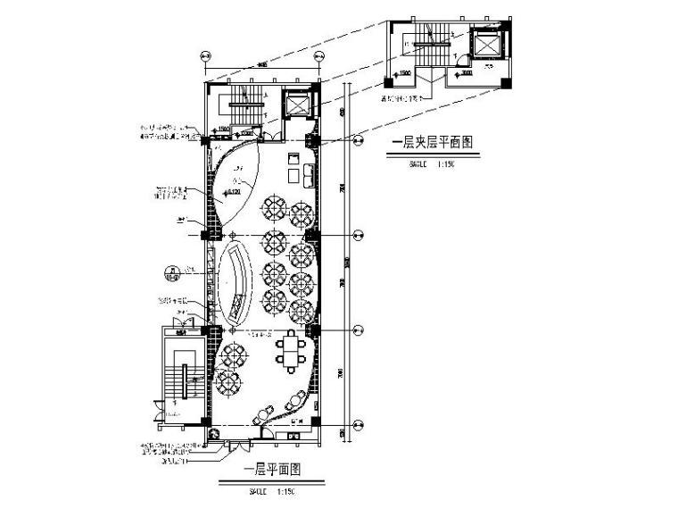 [海南]一套详细的游戏竞技网吧设计施工图