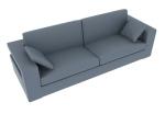 灰色沙发3D模型下载