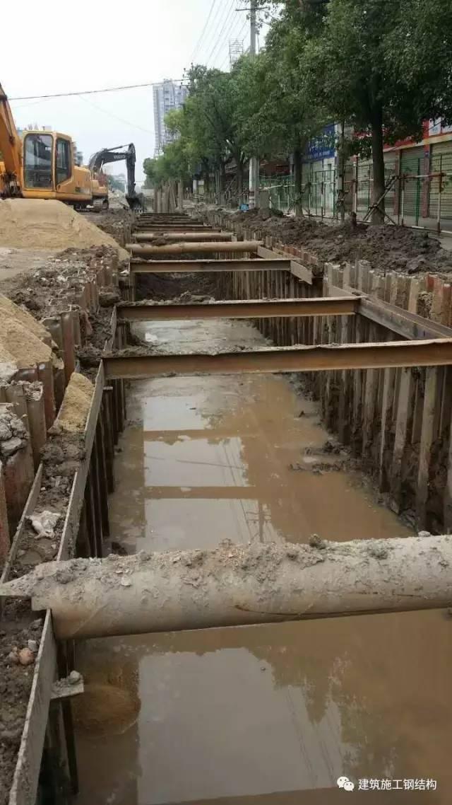 拉森钢板桩施工可能遇见问题的处理方法