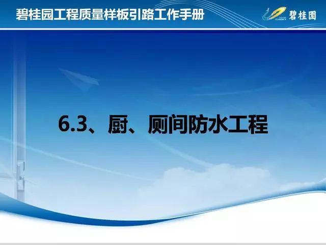 碧桂园工程质量样板引路工作手册,附件可下载!_91