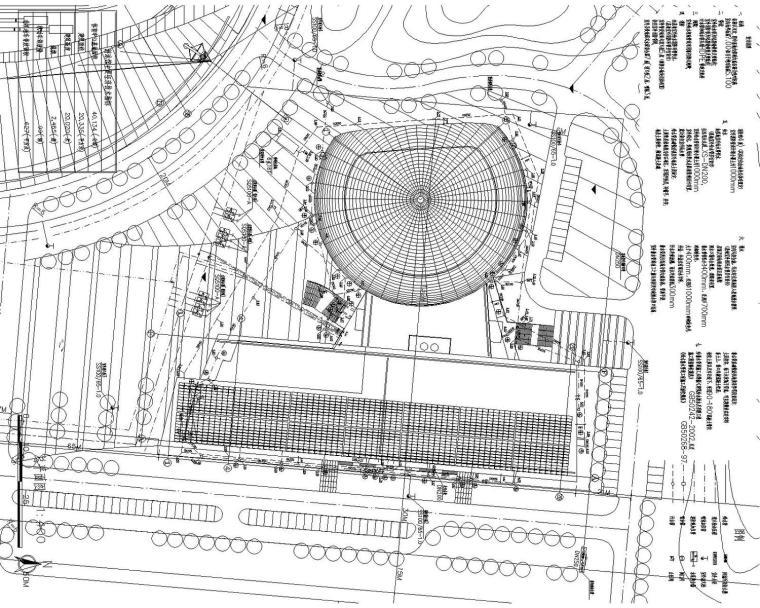 [连云港]体育中心游泳馆给排水消防管道系统构筑物全套施工图