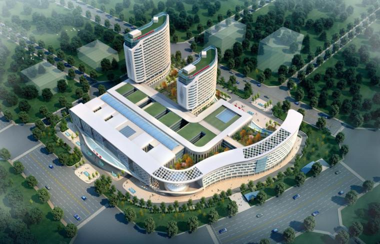 [云南]高层少数民族特色心血管病医院建筑设计方案文本