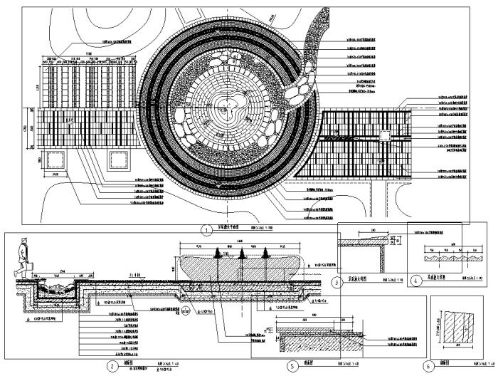 [辽宁]绿色办公生活区景观设计全套施工图