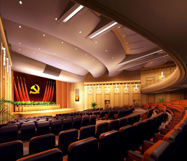 观众厅角度七_副本-钢花影剧院设计方案第4张图片
