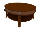 欧式小圆桌3D模型下载
