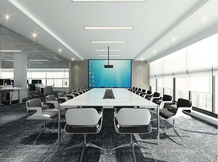 某科技公司办公空间室内设计效果图(含3d模型,材质,光域网)图片