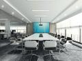 某科技公司办公空间室内设计效果图(含3D模型,材质,光域网)