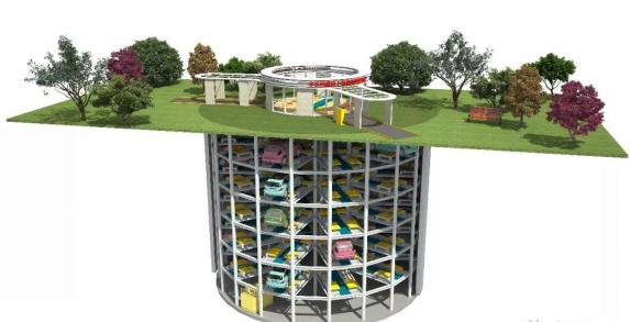 BIM技术助力全国首个装配式、沉井式地下停车场
