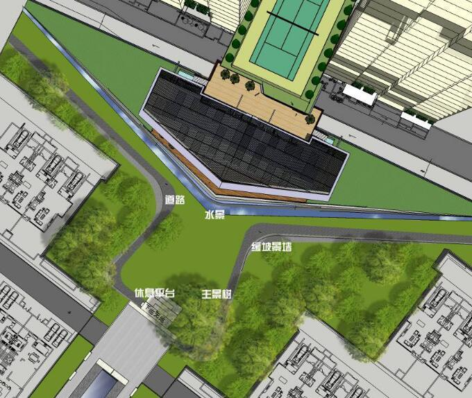 [江西]知名地产南昌青山湖名邸景观设计方案(PPT+218页)-效果图