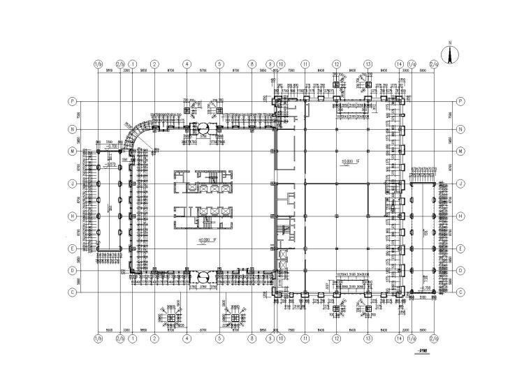 [哈尔滨]4层贸易大厦幕墙施工图(2015)