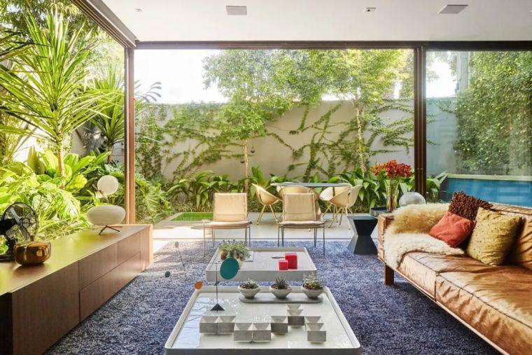 350㎡建筑师的私人住宅,小庭院是亮点!