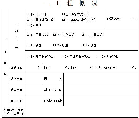 [四川]建设工程质量安全监督手册(全套)
