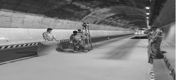 彩色抗滑超薄铺装在公路隧道沥青路面的应用