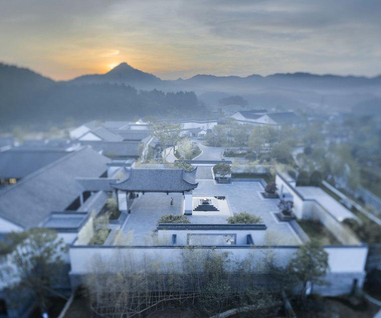 gad作品 | 浸润自然的通透聚落 — 安吉悦榕庄