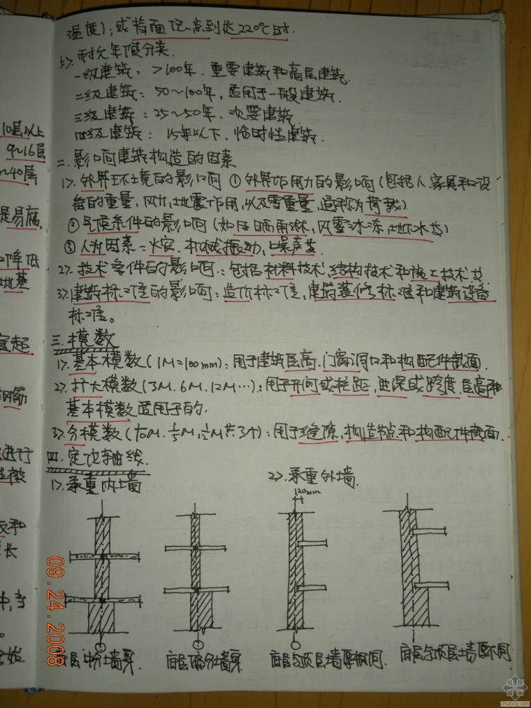 建筑构造复习资料(重点笔记+华工课堂拍摄笔记)_2