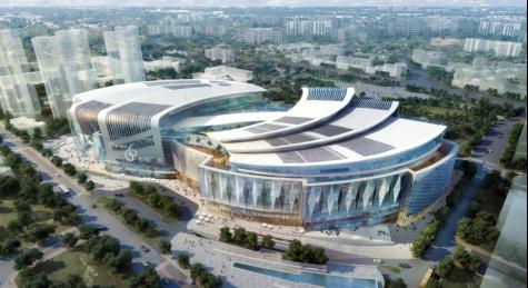 框架剪力墙结构商业广场高支模施工方案