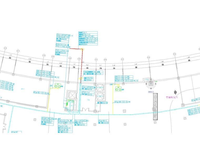 某图书馆电气施工图全套(含电气、照明、配电、消防联动)_4