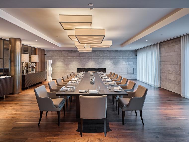 瑞士布尔根施托克酒店-Privat_Dining-Roger_Frei