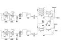 回用水工程流程节点图(CAD)