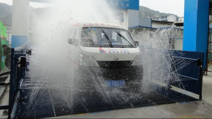 107自动洗车台