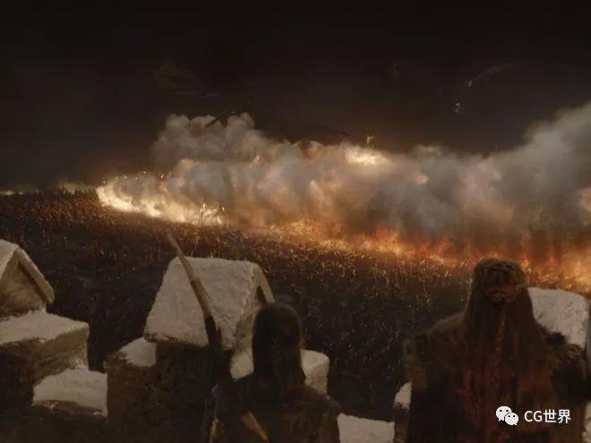 """""""权游""""第八季Weta制作解析_1"""