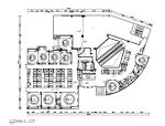 [新疆]家常菜餐厅设计CAD施工图(含实景图、效果图)