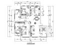 混搭风格样板房CAD施工图(含效果图)