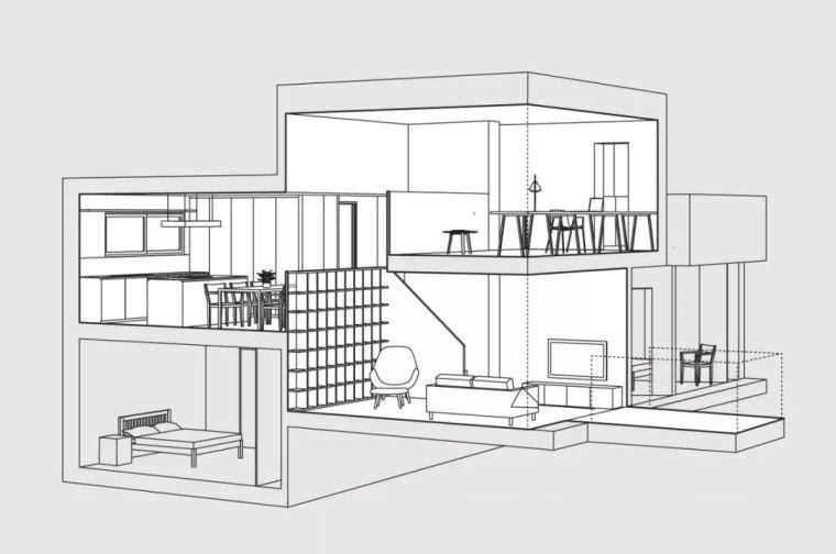 建筑师独立开发的公寓楼,真是好房子!_13