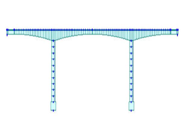 预应力混凝土栏杆详图设计资料下载-90+150+90m公路预应力混凝土连续桥设计