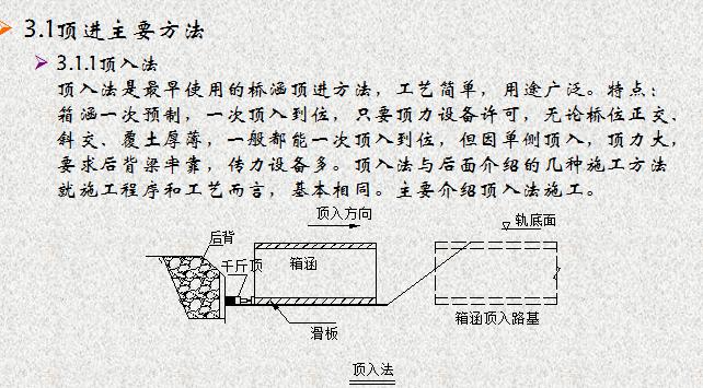 [中铁]涵洞接长与顶进施工技术(共49页)