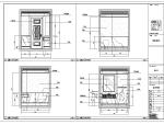 上海筑梦-梦露红酒会所室内设计施工图