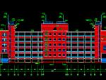 某中学教学楼综合楼施工图