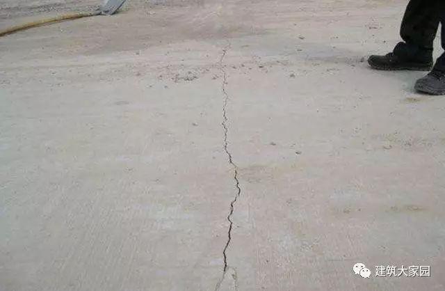 混凝土结构工程的防裂措施!