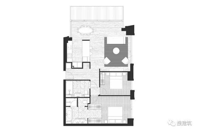 """27米长的""""空中泳池"""",在两栋大楼的第10层连接在一起,中间完全_24"""