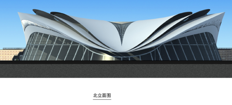 奥体中心网球馆结构施工图
