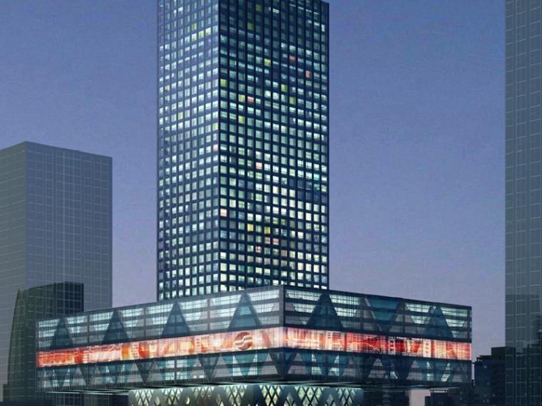[深圳]SOM证券大厦建筑设计方案文本