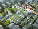 [上海]长宁区延安西路改造建筑方案(包含四套项目方案)