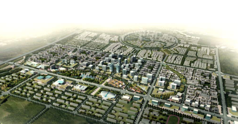固安工业区核心区概念性规划