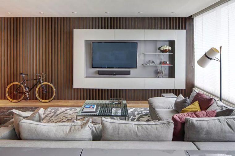 2018年电视背景墙流行这样设计~_11