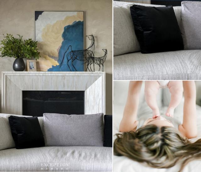 毅气风发--招商双玺豪宅软装设计全案-  【触觉体验·客厅细节】 第6张图片