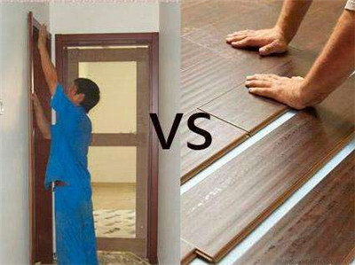 装修业主纠结系列之——先装门还是先装地板?(持续更新)