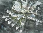 [山东]超高层退台式现代风格商业综合体建筑设计方案文本